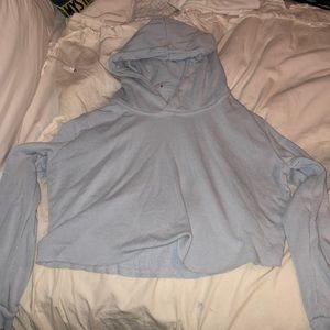 Brandy Melville cropped pullover Sweatshirt
